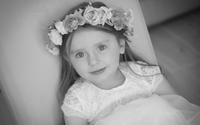 Flower Girl - Hampshire Wedding Photography