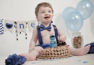 Cake Smash Photography Hampshire