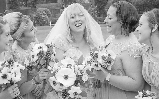 Wedding Photography Bride and Bridesmaids
