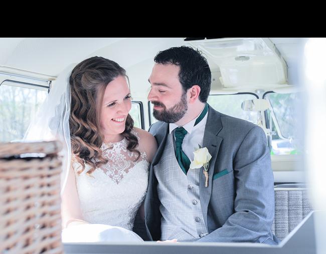 Wedding Photograph Of Married Couple